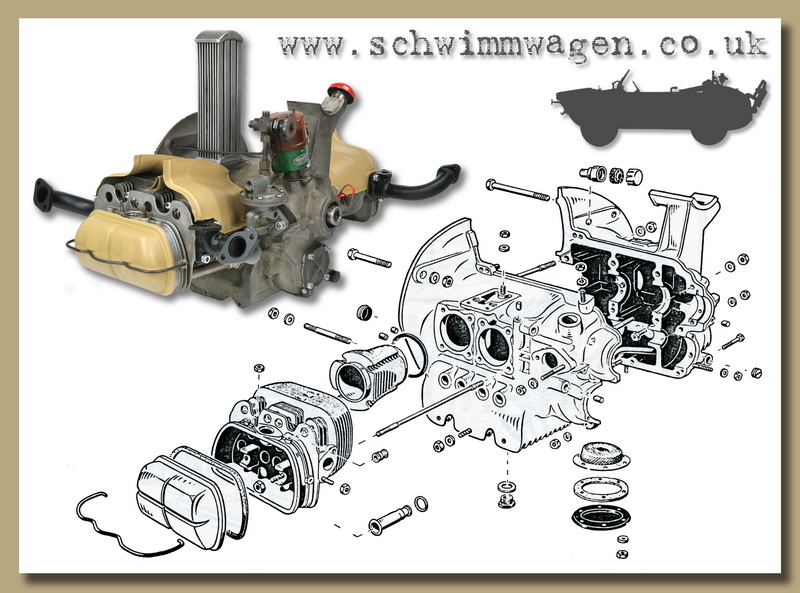 vw engine exploded view  vw  free engine image for user